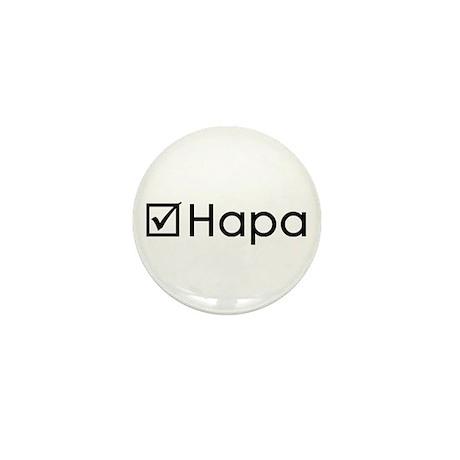 Check Hapa Mini Button (10 pack)