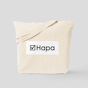 Check Hapa Tote Bag
