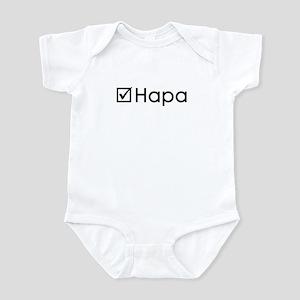 Check Hapa Infant Bodysuit
