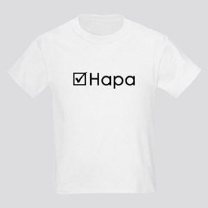 Check Hapa Kids Light T-Shirt