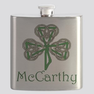 McCarthey Shamrock Flask