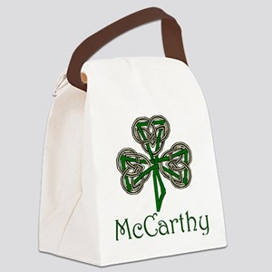 McCarthey Shamrock Canvas Lunch Bag