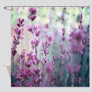 LAVENDER DREAMING Shower Curtain