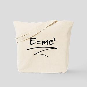 E = mc² Relativity Formula Tote Bag