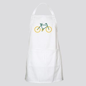 Green and Gold Cycling Apron