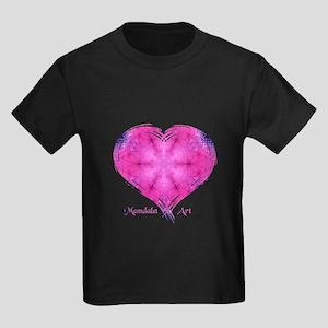 Mandala Art Dazzled Kids Dark T-Shirt