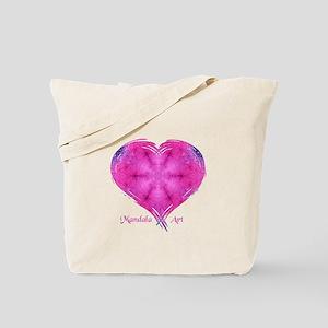 Mandala Art Dazzled Tote Bag
