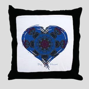 Big Heart Balance Throw Pillow