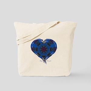 Big Heart Balance Tote Bag