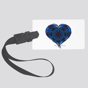 Big Heart Balance Large Luggage Tag