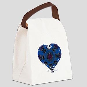 Big Heart Balance Canvas Lunch Bag