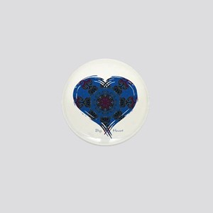 Big Heart Balance Mini Button