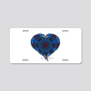 Big Heart Balance Aluminum License Plate