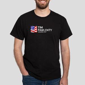 Pawlenty 06 Black T-Shirt