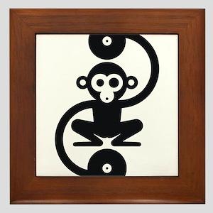 Monkey Music Framed Tile