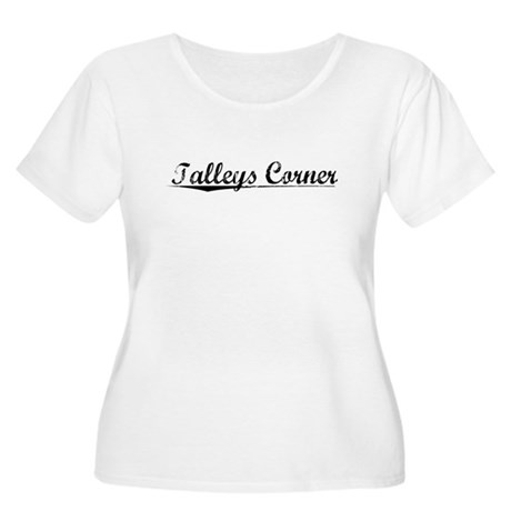 Talleys Corner, Vintage Women's Plus Size Scoop Ne