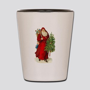 Victorian Santa Claus Shot Glass