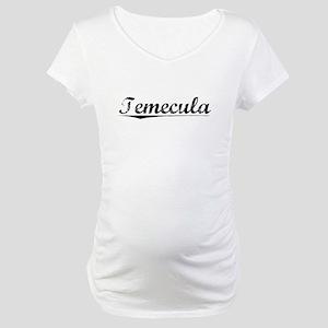 Temecula, Vintage Maternity T-Shirt