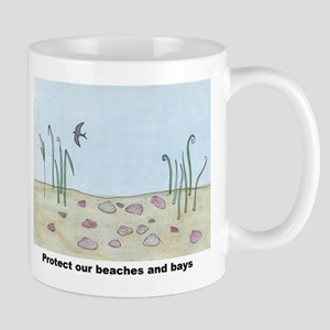 Protect our beaches and bays Mug