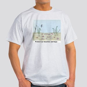 Protect our beaches and bays Light T-Shirt