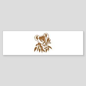 KOALA EUCALYPTUS Sticker (Bumper)