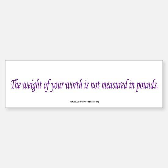 Eating Disorders Awareness Bumper Bumper Bumper Sticker