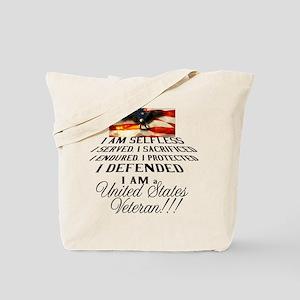 THE VETERAN!!!! Tote Bag
