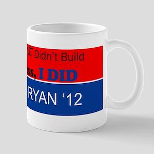 Gov't did build my business I did! Mug