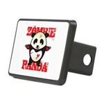 Zombie Panda Rectangular Hitch Cover