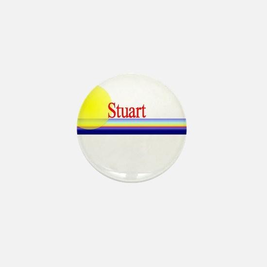 Stuart Mini Button