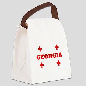 Georgia (Republic) Canvas Lunch Bag