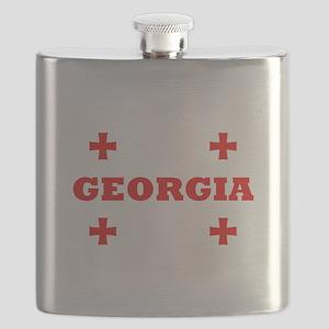 Georgia (Republic) Flask