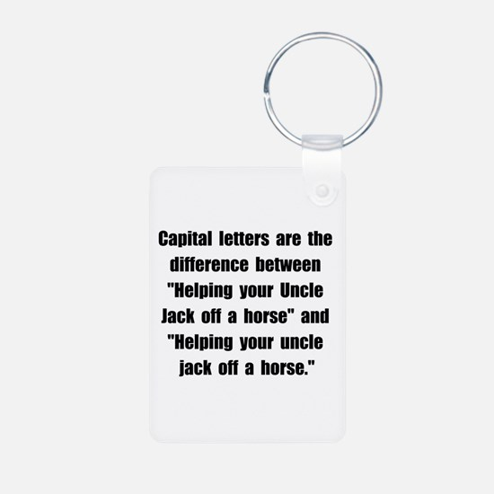 Capital Letters Jack Keychains