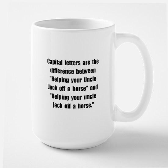 Capital Letters Jack Large Mug