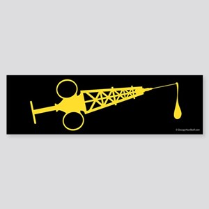 Hypo-Derrick (Yellow/Black) Sticker (Bumper)