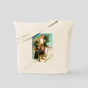 Victorian Santa Claus Tote Bag