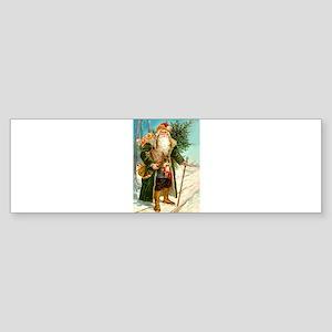 Victorian Santa Claus Sticker (Bumper)