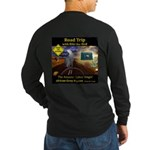 Texas Road Trip Long Sleeve Dark T-Shirt - 2 sides