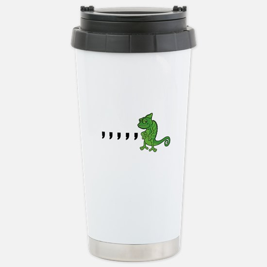 Comma Chameleon Stainless Steel Travel Mug