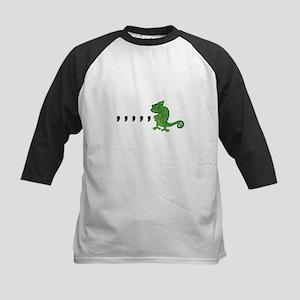 Comma Chameleon Kids Baseball Jersey