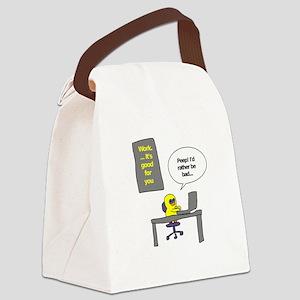 Working Mu Canvas Lunch Bag