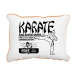 Karate Canvas Pillow