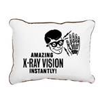X-Ray Specs Canvas Pillow