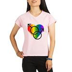 Gay Pride Rainbow Love Performance Dry T-Shirt