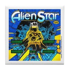 Gottlieb® Alien Star Pinball Tile Coaster