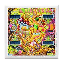 Gottlieb® Roller Disco Pinball Tile Coaster
