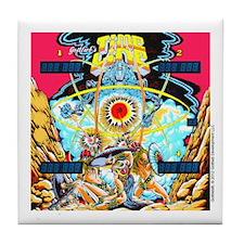 Gottlieb® Time Line Pinball Tile Coaster
