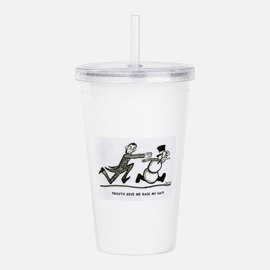 Abe and Frosty Acrylic Double-wall Tumbler