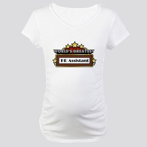 World's Greatest HR Assistant Maternity T-Shirt
