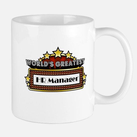 World's Greatest HR Manager Mug
